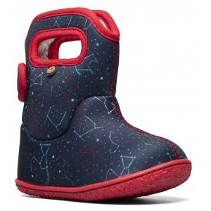 Cizme de zăpadă Bogs 72738I-492 Baby Bogs Constellation Navy Multi