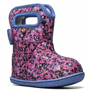 Cizme de zăpadă Bogs 72739I-690 Baby Bogs Little Textures Pink Multi