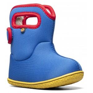 Cizme de zăpadă Bogs 72743I-443 Baby Bogs Solid Roay Blue Multi