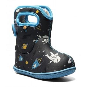Cizme de zăpadă Bogs 72610I-074 Baby Bogs Space Man Dark Gray Multi