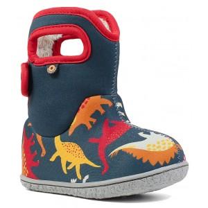Cizme de zăpadă Bogs 72165I-409 Baby Bogs Dino Indigo Multi