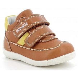 Pantofi Primigi 7369311 Nappa SI Nabuk Cognac Limone