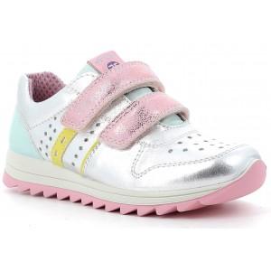 Sneakers Primigi 7383233 Cap Lam SLam N Argento Rosa