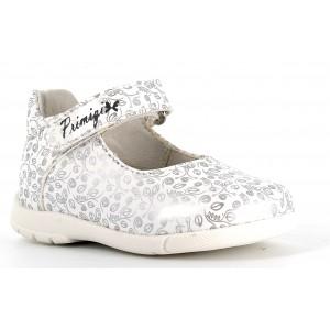 Balerini Primigi 7409300 White Silver