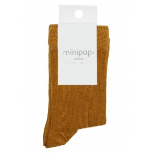 Sosete bambus MiniPop MP10 Mustard