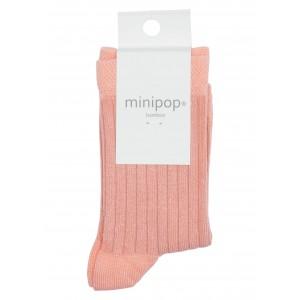 Sosete bambus MiniPop MP10 Peach