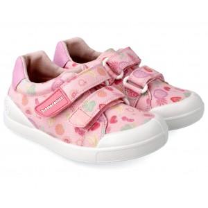 Sneakers Biomecanics 212226 A Rosa Y Frutas Pique Y Estampados