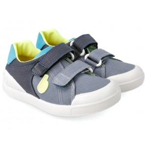 Sneakers Biomecanics 212233 A Vaquero y Azul Marino Pique