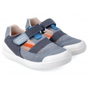 Sneakers Biomecanics 212231 A Vaquero y Azul Marino Pique