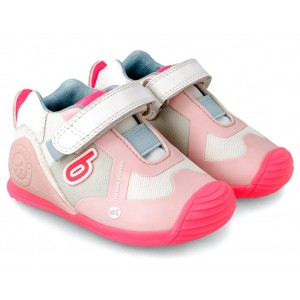 Sneakers Biomecanics 212154 C Rosa Multicolor Rejilla