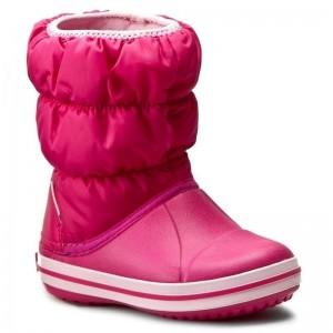 Cizme de zapada Crocs Winter Puff Boot Kids Roz