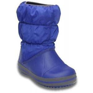 Cizme de zapada Crocs Winter Puff Boot Kids Albastru