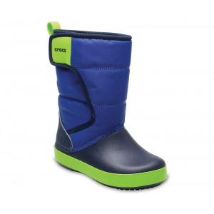 Cizme de zapada Crocs LodgePoint Snow Boot K Albastru