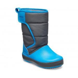 Cizme de zapada Crocs LodgePoint Snow Boot K Gri