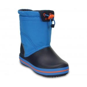 Cizme de zapada Crocs LodgePoint Snow Boot K Ocean
