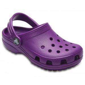 Șlapi Crocs Classic Clog K Amethyst