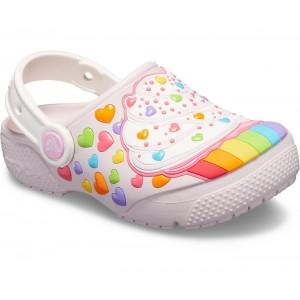 Șlapi Crocs Cupcake Clog K Barely Pink