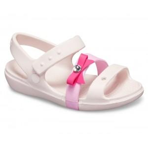 Sandale Crocs Keeley Charm K Barely Pink O
