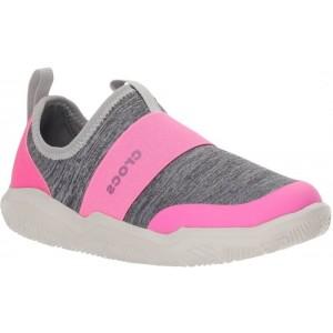 Pantofi Crocs Swiftwater EasyOn Hthr Shoe K Light Grey