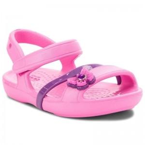 Sandale Crocs Lina K Party Pink