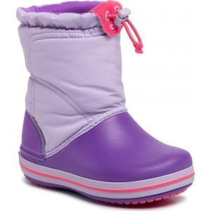 Cizme de zapada Crocs CB LodgePoint Boot K Lavender/Neon Purple