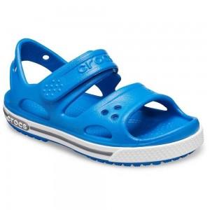 Sandale Crocs Crocband II Sandal P Bright Cobalt Charcoal