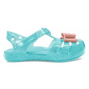 Sandale Crocs Isabella Bow Sandal K Ice Blue