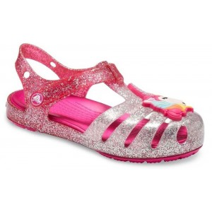 Sandale Crocs Isabella Charm Sandal Pink Ombre