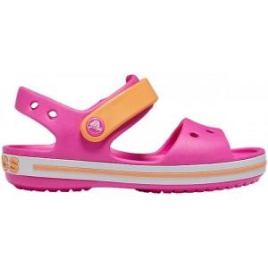 Sandale Crocband Sandal Kids Electric Pink Cantaloupe