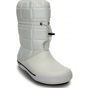 Cizme Crocband II.5 Winter Boot W White/Navy