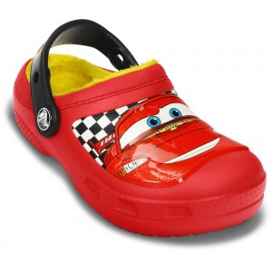 Șlapi Crocs CC McQueen Lined Clog Red