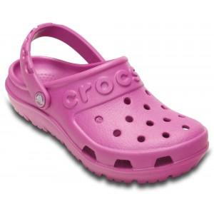 Șlapi Crocs Hilo Clog Kids Wild Orchid