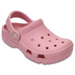 Șlapi Crocs Coast Clog K Petal Pink