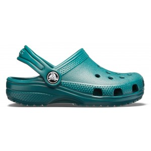 Șlapi Crocs Classic Clog K Evergreen
