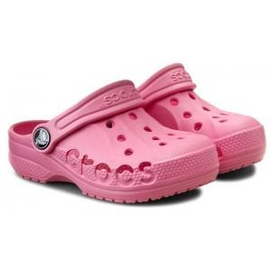 Șlapi Crocs Baya Clog K Pink Lemonade
