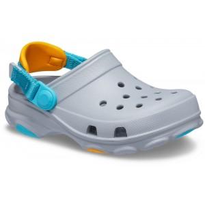 Șlapi Crocs Classic All-Terrain Clog K Light Grey