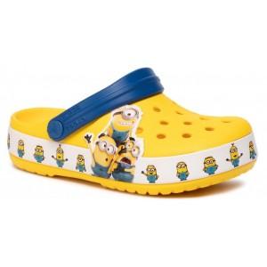 Șlapi Crocs CrocsFL Minions Multi Clg K Yellow