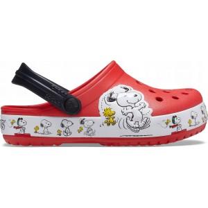 Șlapi Crocs FL Snoopy Woodstock Cg K Flame