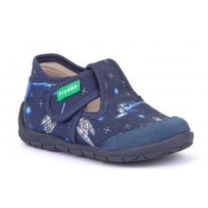 Pantofi Froddo G1700260-5 Blue Denim