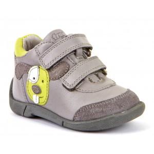 Pantofi Froddo G2130233-2 Light Grey