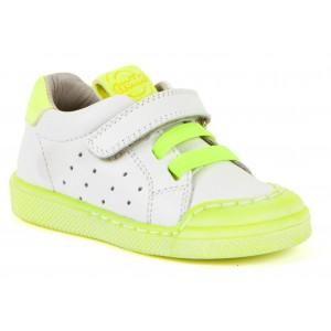 Pantofi Froddo G2130231-4 White Yellow