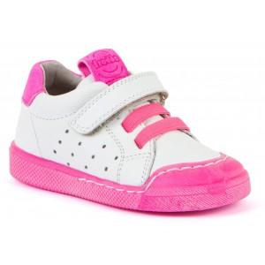 Pantofi Froddo G2130231-3 White Fuxia