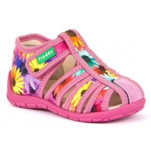 Sandale Froddo G1700250-1 Pink Flowers