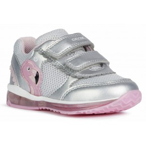 Sneakers Geox B Todo GC Silver Pink