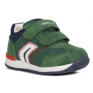 Sneakers Geox B Rishon BB Green