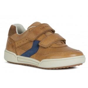 Sneakers Geox J Poseido B Cognac Blue