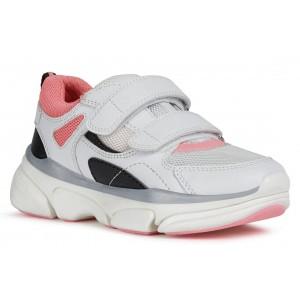 Sneakers Geox J Lunare GE White Fuchsia