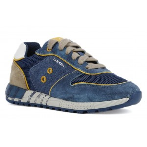 Sneakers Geox J Alben BB Avio Beige