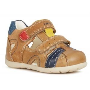 Sandale Geox B Kaytan BA Caramel