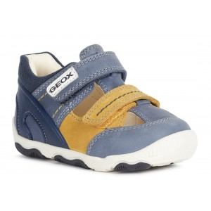 Sandale Geox B New Balu Boy Blue Orchre Yellow